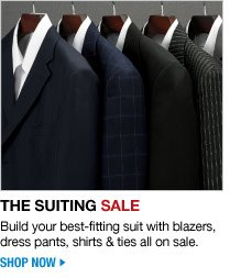 the suiting sale - shop now
