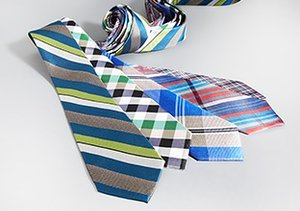 Solids to Prints: Spring Ties