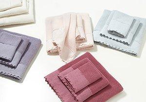 Bath Towels by Mili Designs