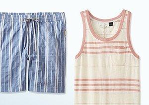 Show Your Stripes: Swimwear