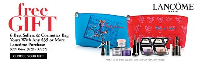 Free Lancome Gift with Purchase