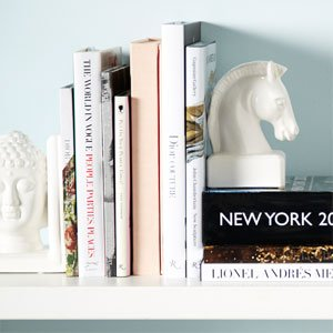 Stylish Books & Bookends