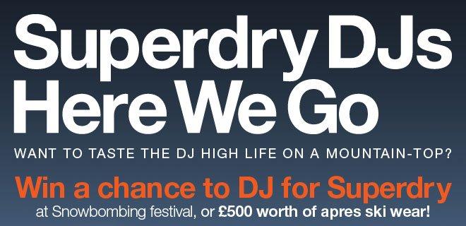 Superdry DJs