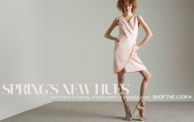 Shop Spring Hues - Ladies