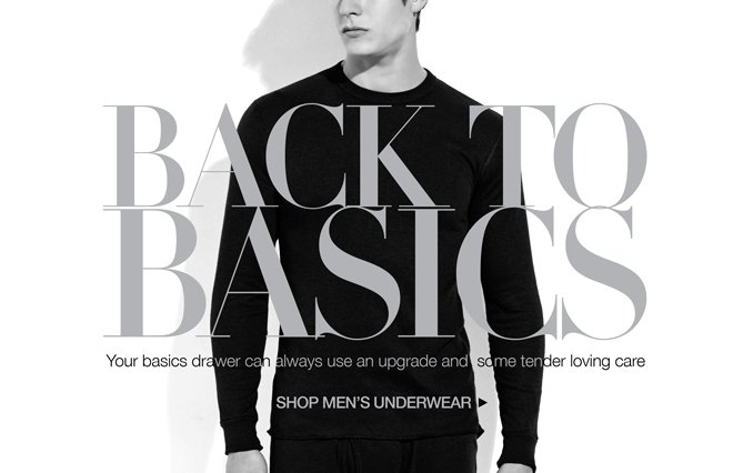 Shop Must Have Basics - Men