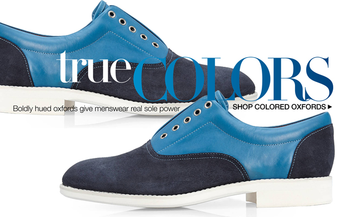 Shop Colorful Oxfords - Men