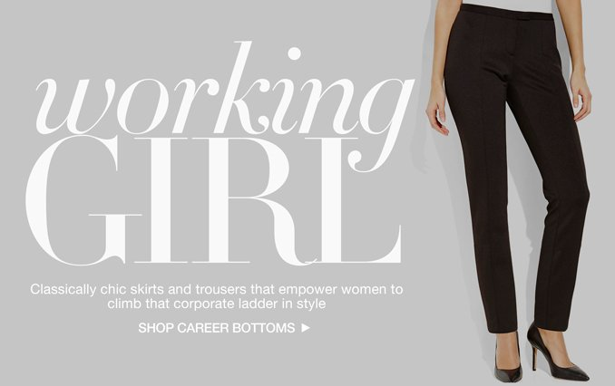 Shop Career Bottoms - Ladies