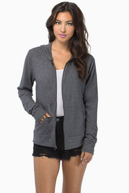 Campfire Zip Up Sweater $33
