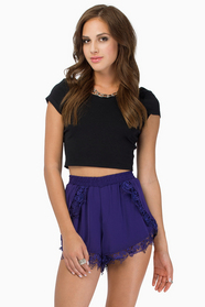 Draw The Curtains Shorts $33