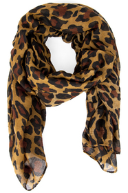 Leaping Leopard Scarf $12