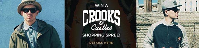 Win a Crooks & Castles Shopping Spree!
