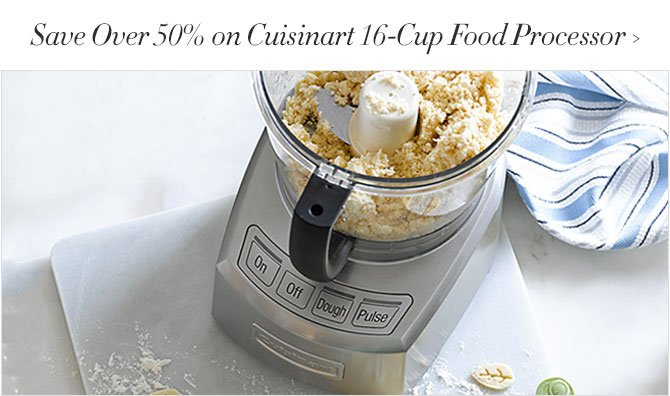 Spring Baking Event! Save up to 50% - Food Processors, Tart Pans and more