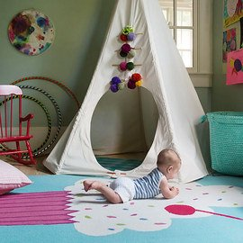 Looking for Color: Kids' Rugs
