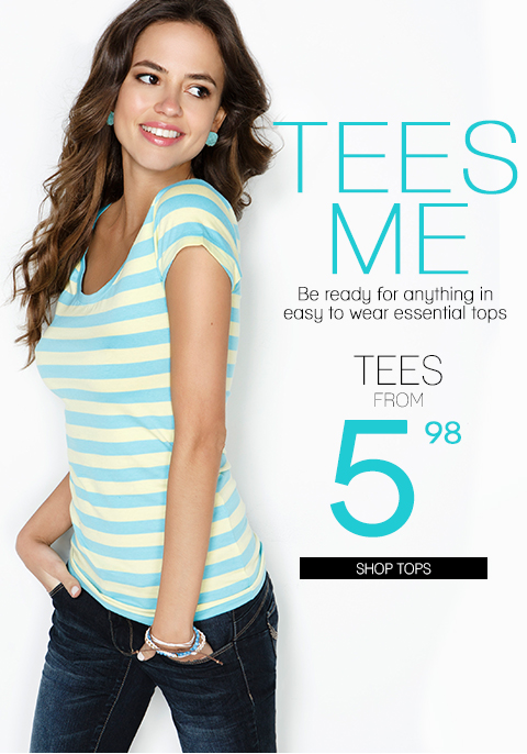 Tees Me! Shop Essential Tops for Spring