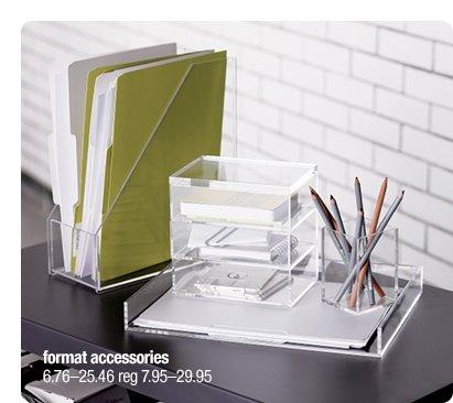format accessories 6.76-25.46 reg  7.95-29.95