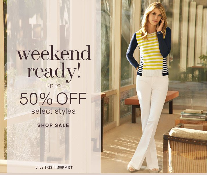 New Markdowns up to 50% Off!
