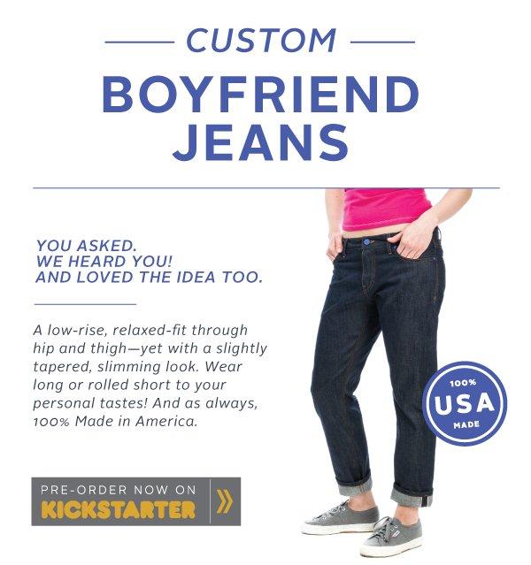 Custom Boyfriend Jeans