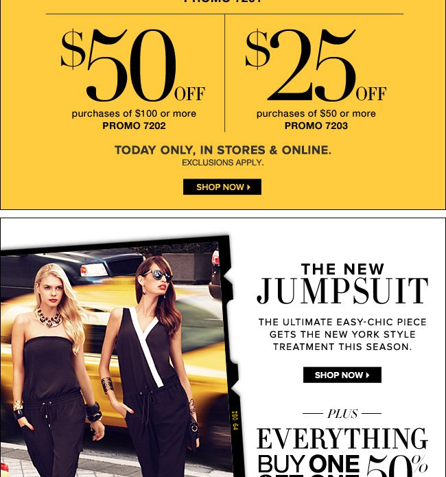 Plus Everything Buy 1, Get 1 50% Off!