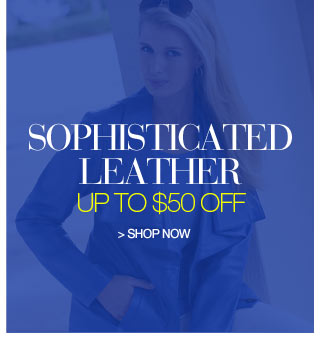 Sophisticated Leather up to $50 off - shop now
