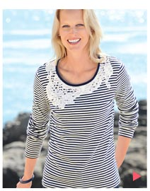 Buy your Macrame Collar T-Shirt today