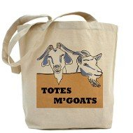 Totes M'Goats Tote Bag
