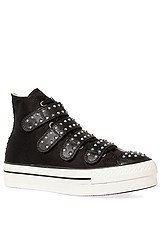 The Chuck Taylor All Star Platform 4V Zip in Black