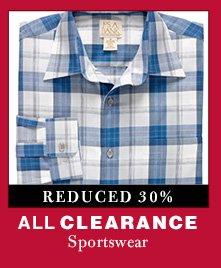 Clearance Sportswear - Reduced 30%