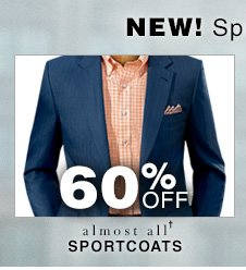 60% Off* Sportcoats