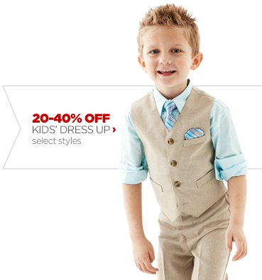 20–40% OFF KIDS' DRESS UP›  select styles