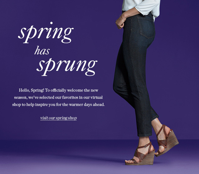 Spring has sprung | Visit our spring shop