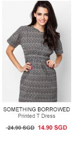Printed T Dress now 14.90 SGD