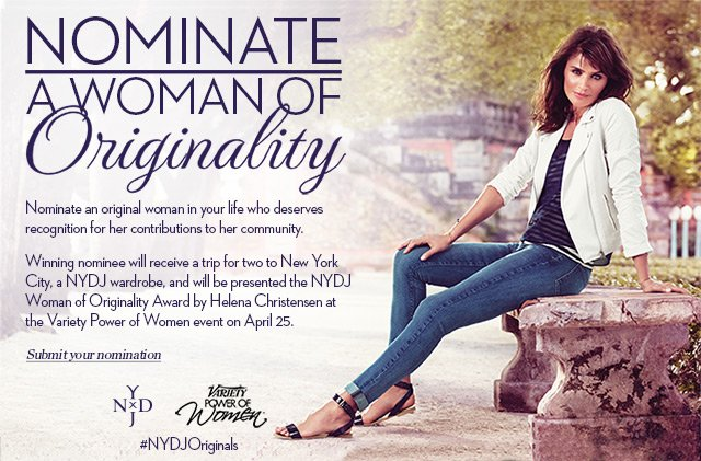Nominate a woman of originality