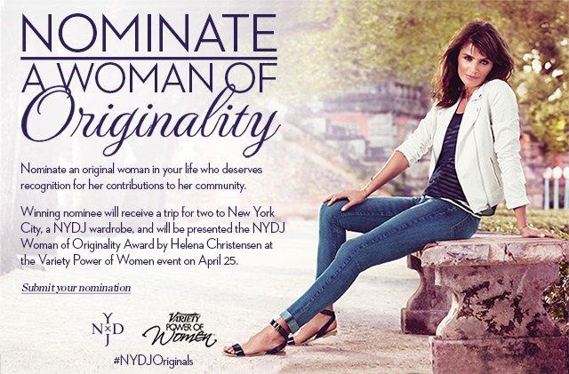 Nominate a woman of originality