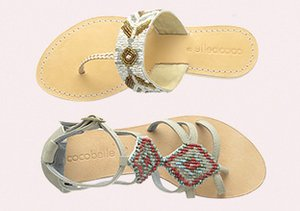 Spring-Ready Sandals feat. Cocobelle