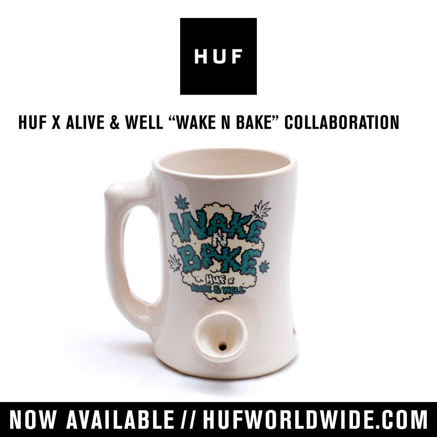 HUF X ALIVE & WELL 'WAKE N BAKE' COLLABORATION