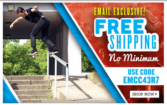 Email Exclusive! Free Shipping on ALL orders!*