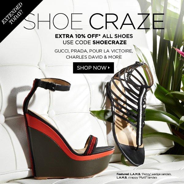 Shoe Craze Extended!