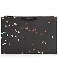 GIVENCHY - Antigona confetti coated canvas pouch