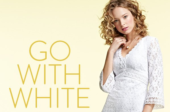 GO WITH WHITE
