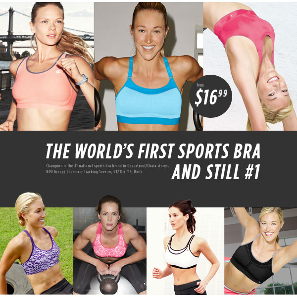 SHOP Sports Bra Sale from $16.99