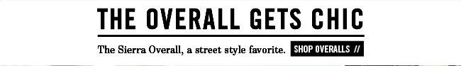 Sierra Overalls 2014 - Shop Overalls