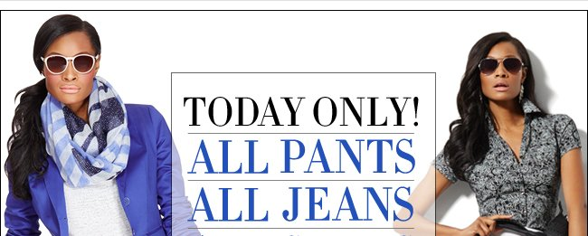 All Pants, Jeans, & Skirts 50% Off