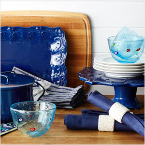 Brilliant-Blue Kitchen Essentials