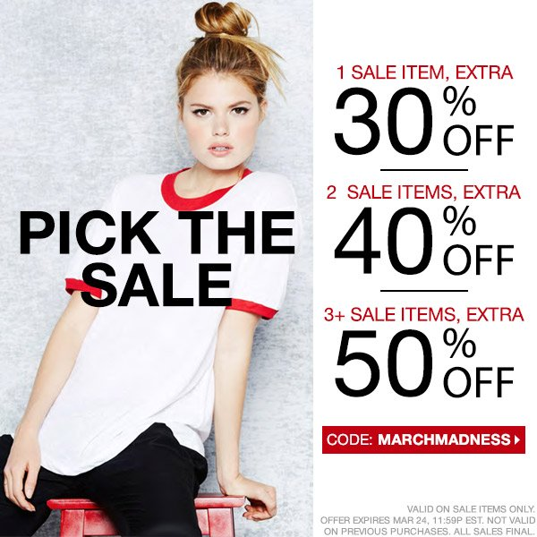 Take up to 50% off this weekend only.