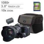 JVC GC-PX100 Everio Sports Wi-Fi Camcorder Bundle