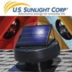 Solar Powered Attic Fan Professional Series by U.S. Sunlight