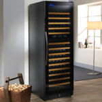 Wine Enthusiast Q Series 170-Bottle Dual-Temperature Wine Cellar