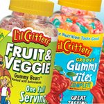 L'il Critters Groovy Multi Vites or Fruit and Veggie Gummy Bears