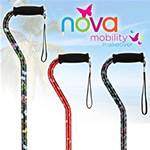 """""""Natural Elegance"""" Offset Cane 3-Pack by Nova"""