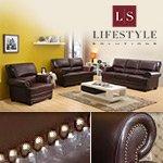 Sicily 3-Piece Leather Set